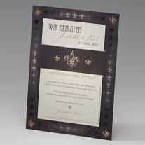 Einladungskarte Victoria (723131)