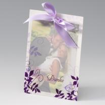 Danksagungskarte Violetta  (723314)