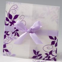 Einladungskarte Violetta (723914)