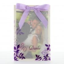 Danksagungskarte Violetta (724320D)