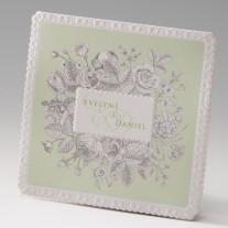 Hochzeitseinladung Blütenmeer (725012D)