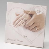 Hochzeitseinladung Hände (725013D)