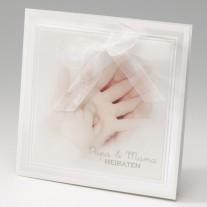 Hochzeitseinladung Hände (725034D)