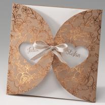 Hochzeitseinladung Herzen (725085)