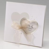 Hochzeitseinladung Hearts (725094)