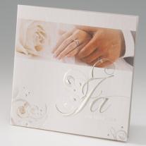 Hochzeitseinladung Klassik (725252)