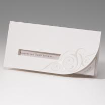 Hochzeitseinladung Klassik (725268)