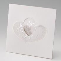 Hochzeitseinladung Herz (725908D)