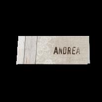 Tischkarte (6 Stk.) passend zur Hochzeitseinladung mit besonderem Pop-up-Effekt