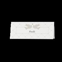 Tischkarte (6 Stk.) passend zur Hochzeitseinladung in Hülle mit Magnetverschluss