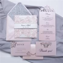 Lasercut Hochzeitskarte (WPL0002)
