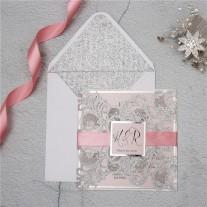 Lasercut Hochzeitskarte (WPL0002G)