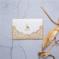 Lasercut Hochzeitskarte (WPL0007)