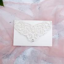 Lasercut Hochzeitskarte (WPL0018)