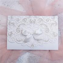 Lasercut Hochzeitskarte (WPL0076)