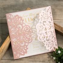Lasercut Hochzeitskarte (WPL0135)
