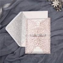 Lasercut Hochzeitskarte (WPL0140)