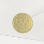 Verschlusssiegel (10 Stk.) für Ihre Briefumschläge (110P)
