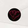 Verschlusssiegel (10 Stk.) für Ihre Briefumschläge (333P)